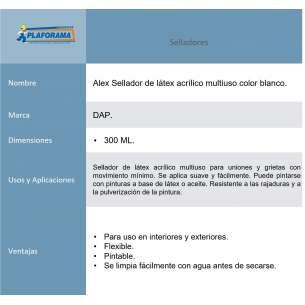 ALEX BLANCO 12/300 ML