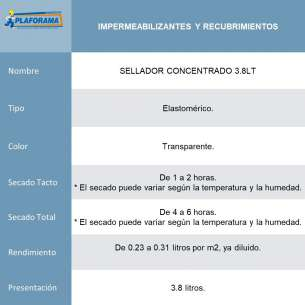 SELLADOR CONCENTRADO 3.8LT