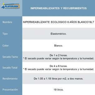IMPERMEABILIZANTE ECOLOGICO...