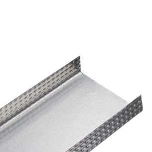Canal amarre Perfirey cal. 26  mod 8004667. Medidas 4.10cm x 3.05m para soportar el peso del panel de yeso.
