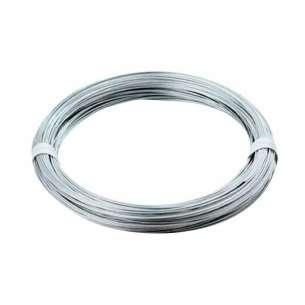 Alambre galvanizado con recubrimiento de zinc Cal. 18. Presentación rollo 1Kg. Ideal para soportar el sistema de plafón falso.