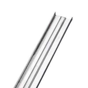"""Canaleta de carga Perfi Rey Panel Rey 800386. Cal. 24 1 1/2"""" x 3.05m Presentación 1 pieza. Indispensable en la construcción de plafones corridos."""