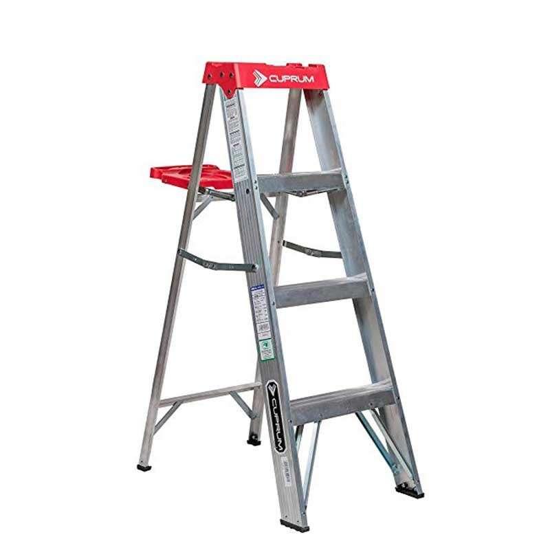 Escalera de tijera aluminio tipo III...