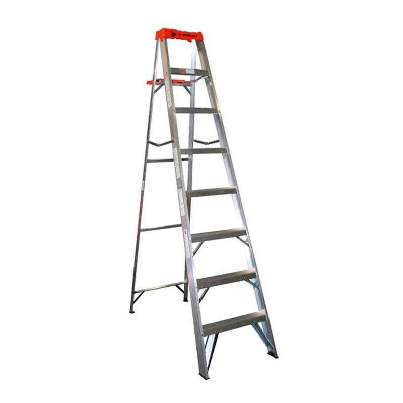 Escalera de tijera de aluminio tipo...