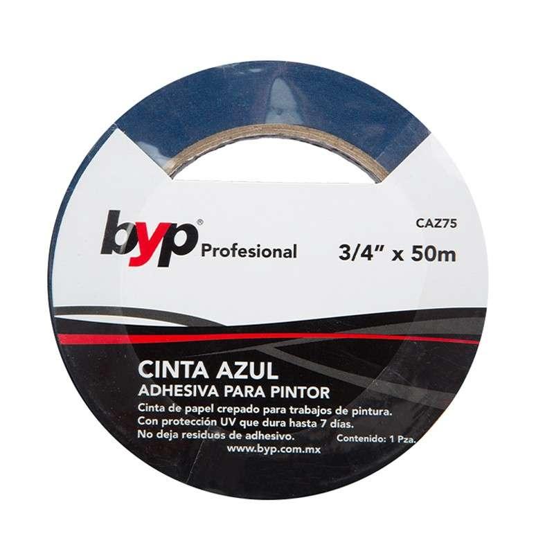 "CINTA AZUL PINTOR 3/4"" X 50M"