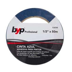 cinta-azul-1/2-pulgada-x-50-metros-byp-modelo-caz50