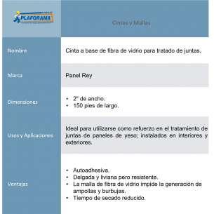 """CINTA FIBRA VIDRIO STD 3"""" X 150PIES"""